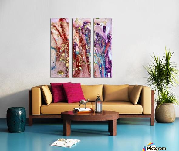 Fiesta Split Canvas print