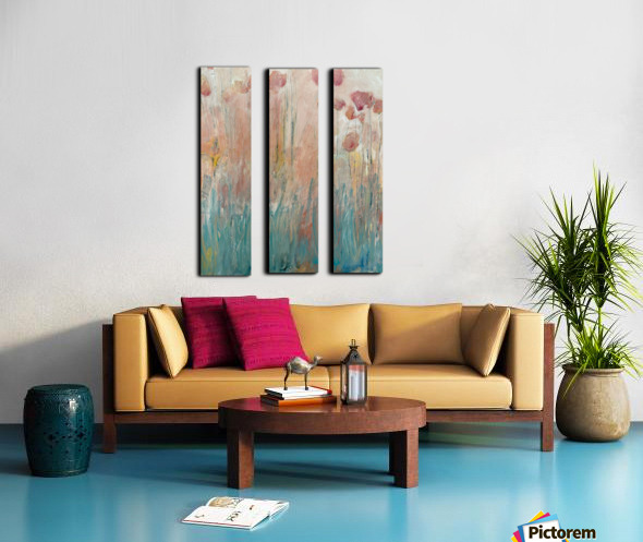 The Garden by Happiness Hill Split Canvas print