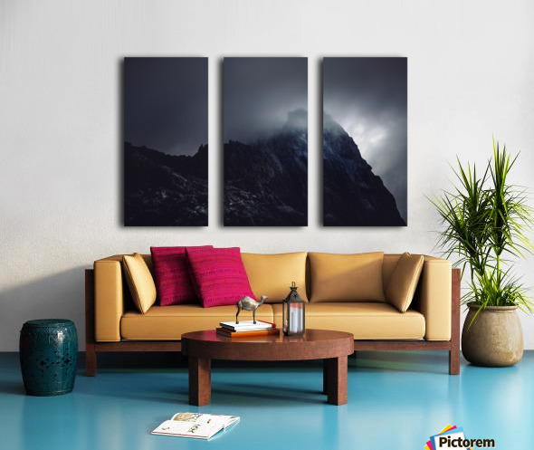 Quiet place Split Canvas print