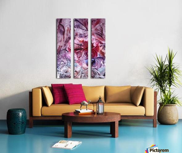 Eden afloat Split Canvas print