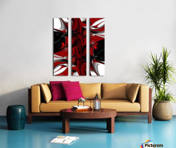 Perceptive Creation Split Canvas print