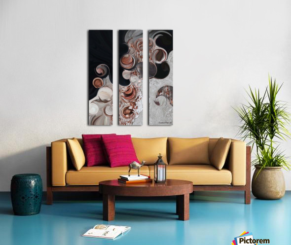 Apparition of Degenerated Vision Split Canvas print