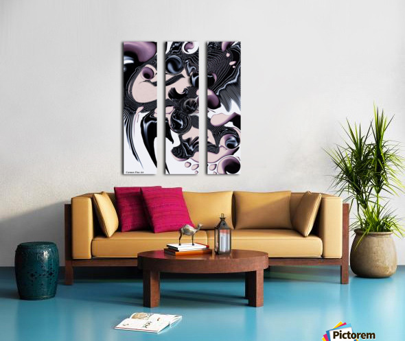 Ephemeral Purity Split Canvas print