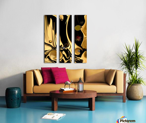 Preconceived Projection Split Canvas print