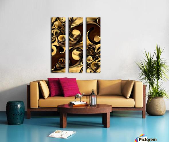 Manufactured Elegance Split Canvas print