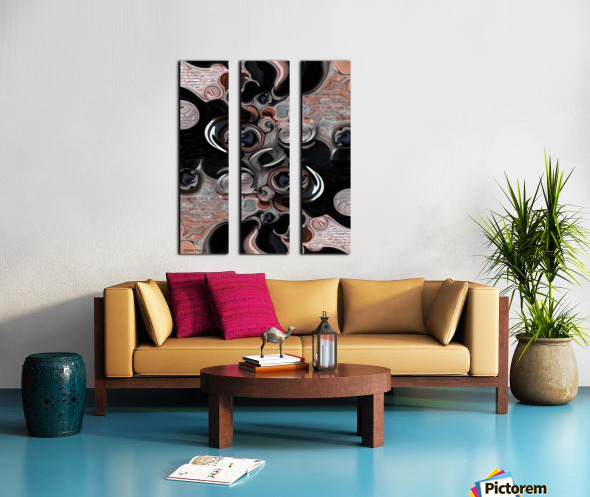 Significance & Abstraction Split Canvas print
