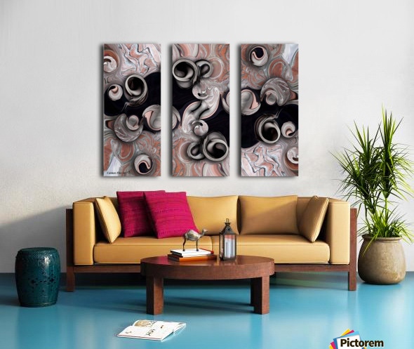 Metamorphosis and Echo Split Canvas print