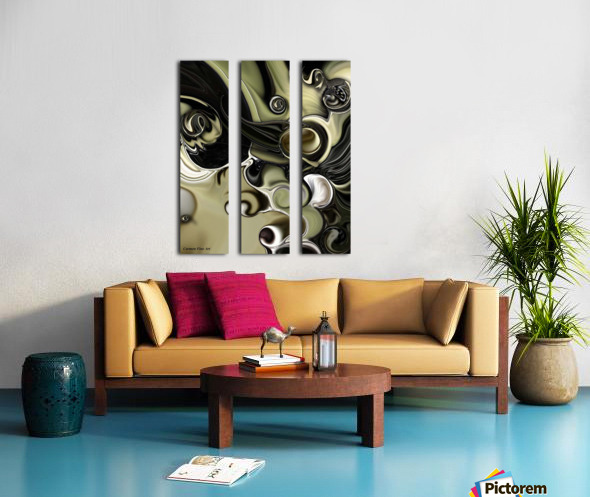 Still Life with Confused Movement Split Canvas print