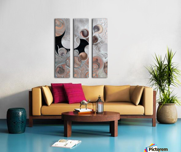 Significance and Shape Split Canvas print