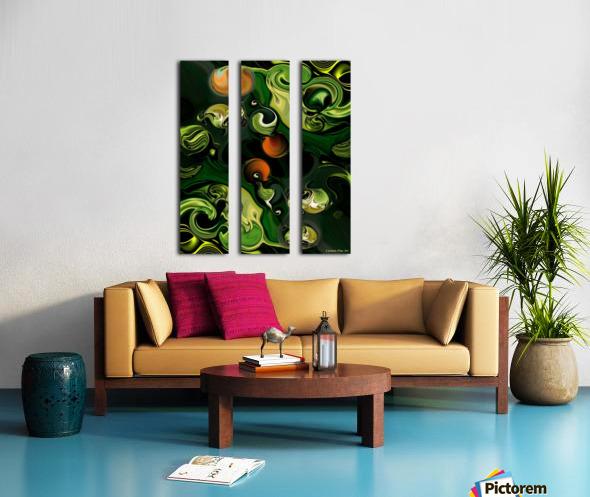 The Lonely Energy Split Canvas print