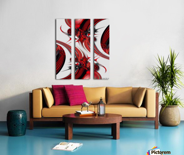 Tender Design   Composition Split Canvas print
