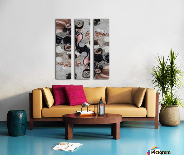 The Modern Projection Split Canvas print