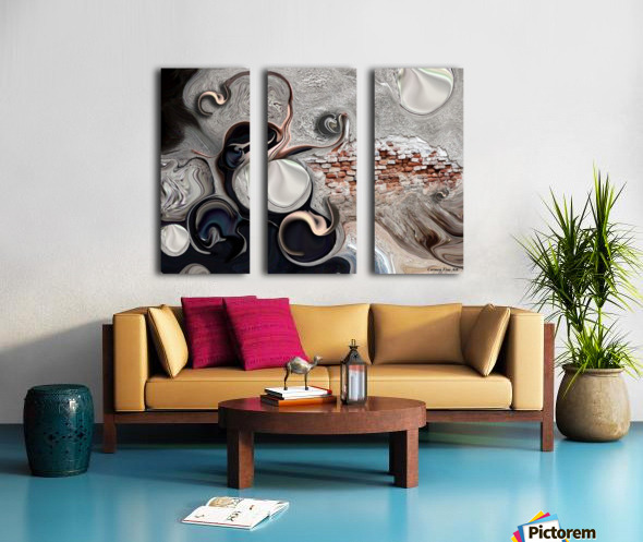The Perceptive Compilation Split Canvas print