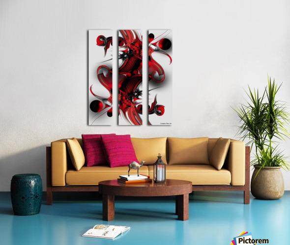 Unique Formation Split Canvas print