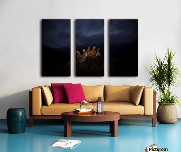One to rule them all Split Canvas print