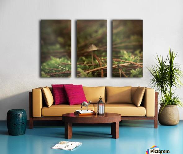 Forest life Split Canvas print