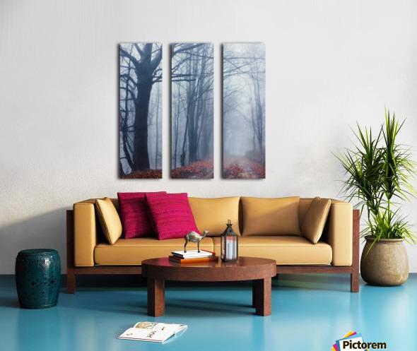 Autumn around us Split Canvas print