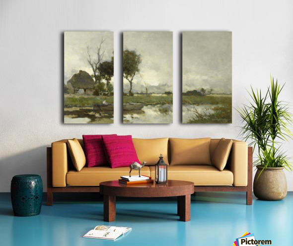 Herfstlandschap Split Canvas print