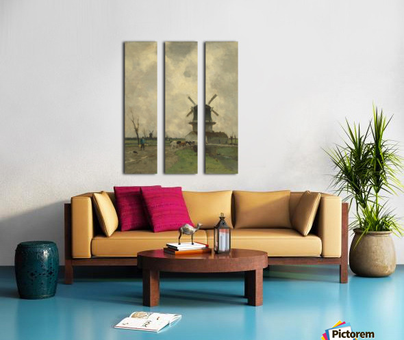 De Molen Split Canvas print