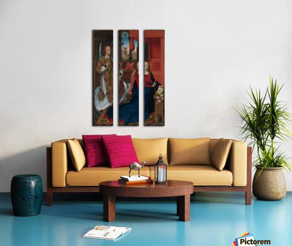 The Annunciation Split Canvas print