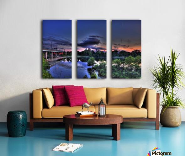 montreal island Split Canvas print