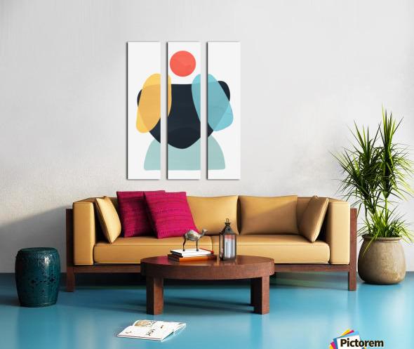 Abstraction C Split Canvas print