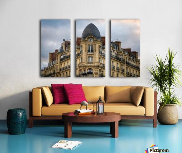 Paris Style Split Canvas print