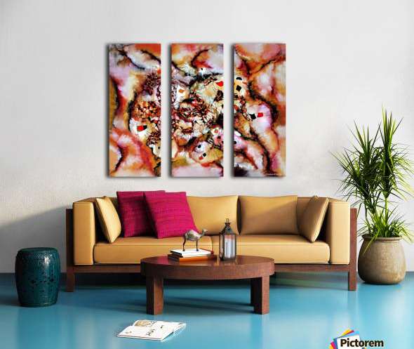 Theme from Aesthetic Fire Split Canvas print