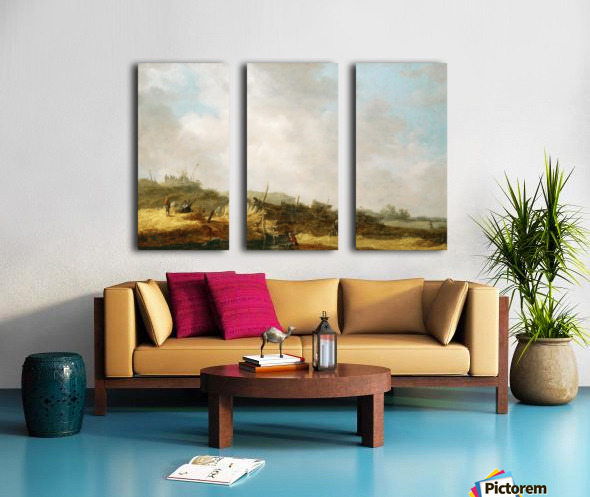 Dune landscape Split Canvas print