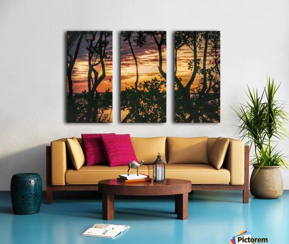 Sunset Collection - 03 Split Canvas print