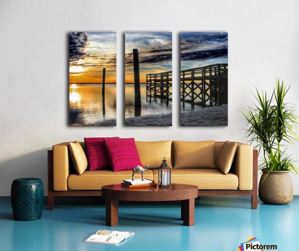 Serenity Collection - 02 Split Canvas print