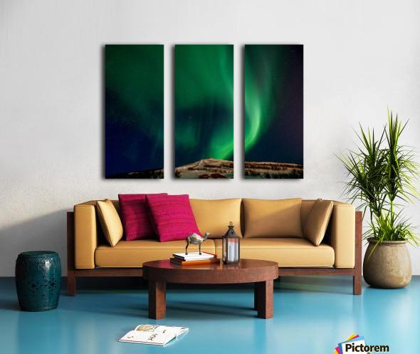 Aurora swirl Split Canvas print