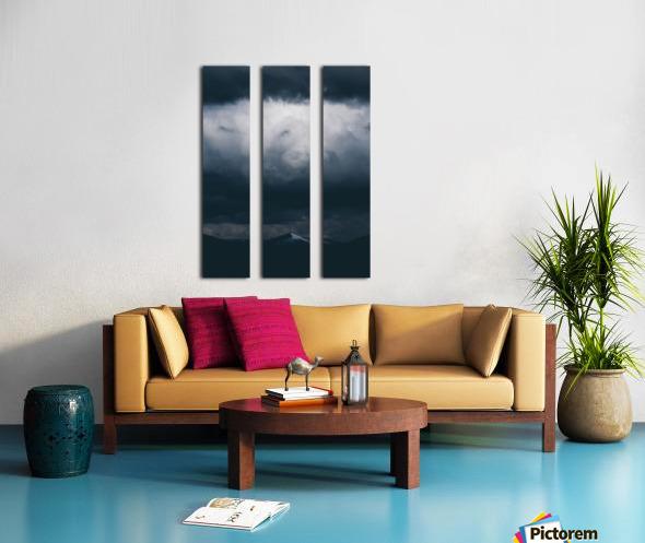 Spark Split Canvas print