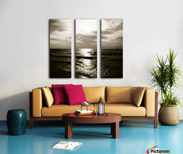 Clearwater Split Canvas print