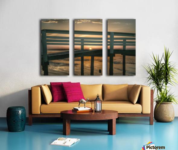 Sunset Collection - 04 Split Canvas print