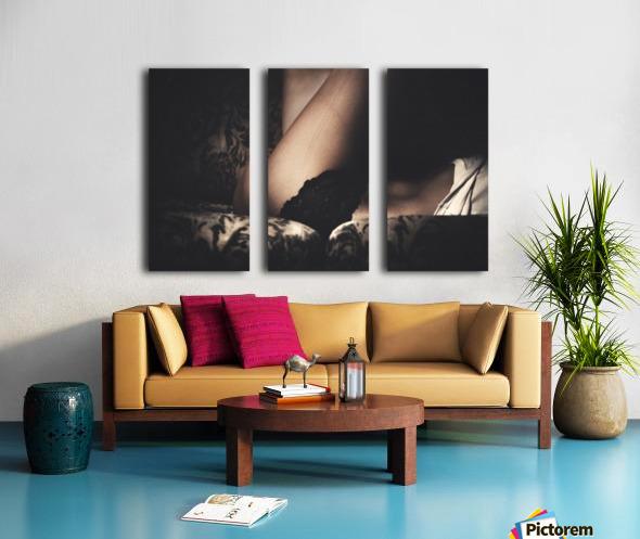 Crossed  Split Canvas print