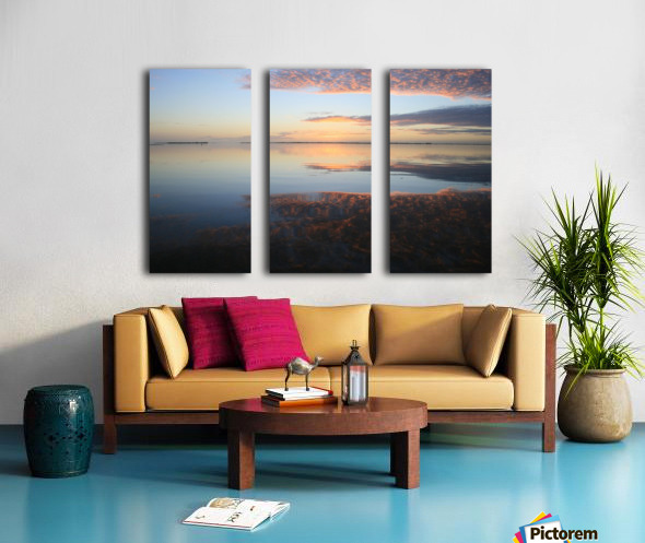 Island Sound - 4 Split Canvas print