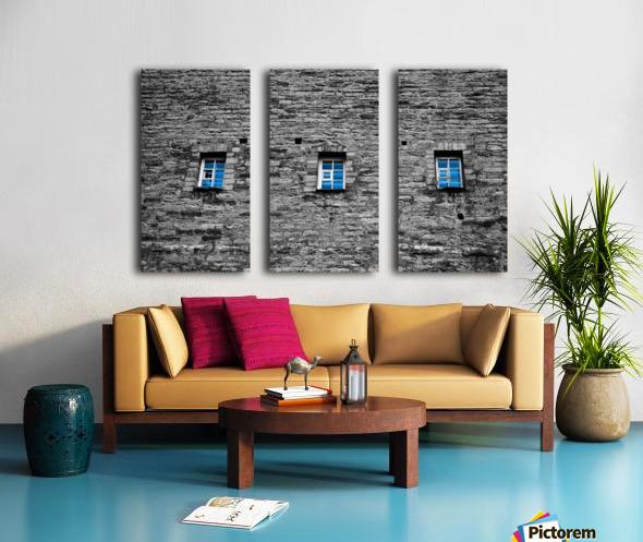 Blue Windows Split Canvas print