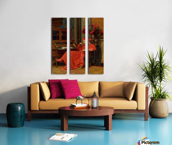 Eureka Split Canvas print