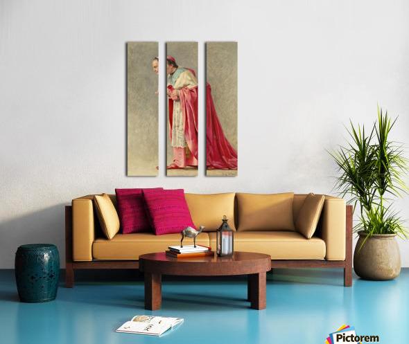 The cardinal Split Canvas print