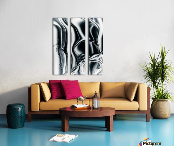 Molten Tree Split Canvas print
