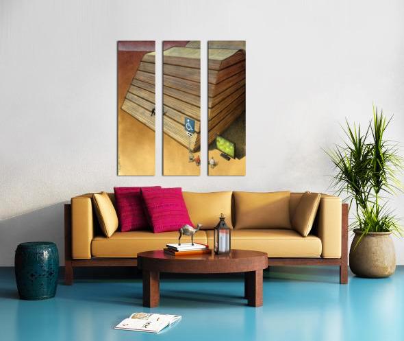 Disable Split Canvas print