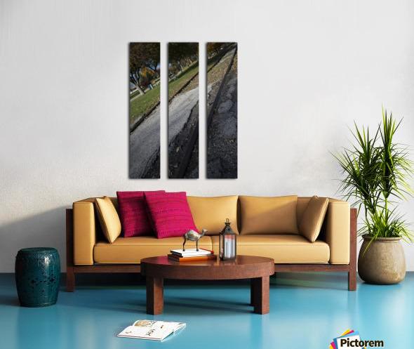 Tracks Split Canvas print