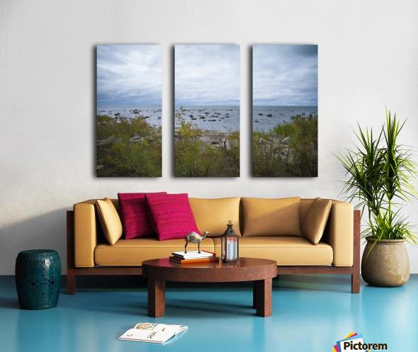 Kettle Point Split Canvas print