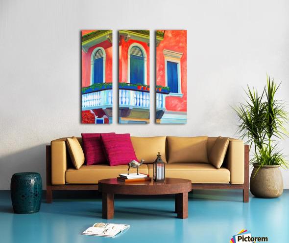 Venice Charm Split Canvas print
