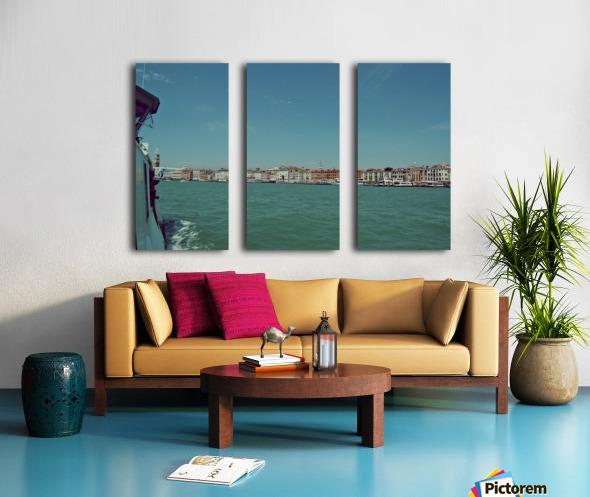 Venice on the see Split Canvas print