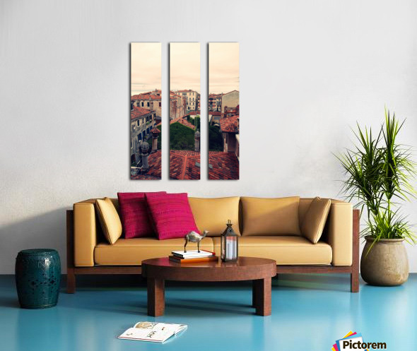City roofs Split Canvas print
