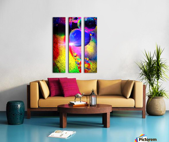 Star Bright Split Canvas print