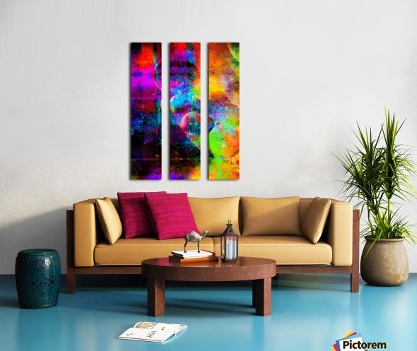 The Dream Split Canvas print
