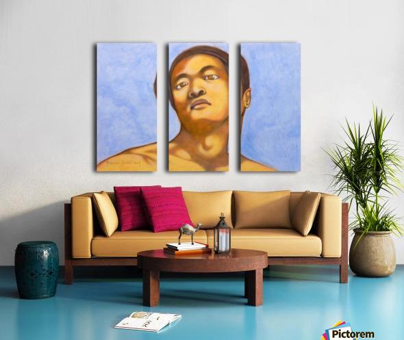 xin in michelangelo mood Split Canvas print